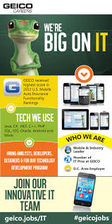 Jobs H M by Infographic It Jobs At Geico A Growing Mobile And Internet