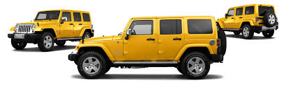jeep rubicon yellow 2011 jeep wrangler unlimited 4x4 sahara 4dr suv research groovecar