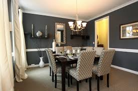 Ideas For Dining Room Old Grey Wall Paint For Dining Room With Simple Carpet On Wooden