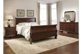 Mahogany Sleigh Bed Liberty Furniture Carriage Court Bedroom Collection