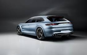 new porsche 4 door porsche panamera sport turismo at the geneva motor show by car