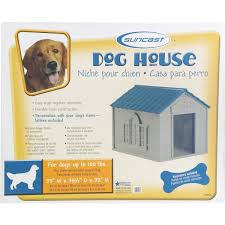 Menards Dog House Suncast Deluxe Large Dog House Dh350 Do It Best