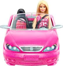 barbie cars with back seats mattel barbie doll and glam convertible car pink djr55 best buy