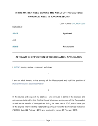 Child Support Contract Template Letter Format Condonation Letter Format Cover Letter And