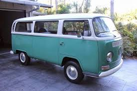 volkswagen electric bus 1970 vw kombi lowlight vw bus