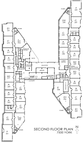 second floor plans floor plan second floor 7500 york