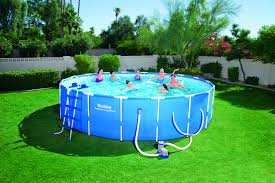 Intex Metal Frame Swimming Pools How Can I Get This Pool On The Lease It Shop Your Way Online