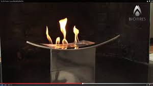 zen bio fireplace luxury minimalistic bow fire youtube