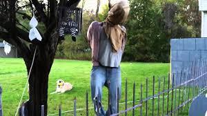 hang man motorized halloween prop youtube