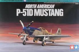 51d mustang p 51d mustang fighter aircraft plastic model