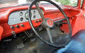 Ford Truck Interior Almost All Original 1957 Ford F 100