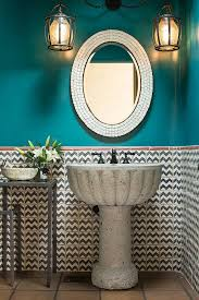 Colorful Bathroom Tile Best 25 Turquoise Bathroom Ideas On Pinterest Chevron Bathroom