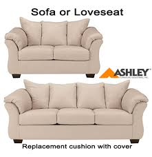 Sofa Cushions Replacement by Ashley Darcy Replacement Cushion Cover 7500038 Or 7500035 Stone