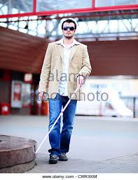 Blind Man Cane Blind Young Man Cane Stock Photos U0026 Blind Young Man Cane Stock