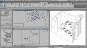 Ibc Stair Design by Autodesk Revit Creating A Switchback Stair Youtube