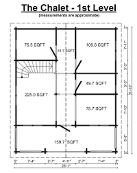 Chalet Floor Plan Chalet Premium Timberlog