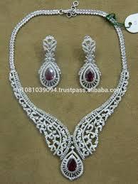 diamonds necklace photos images Heavy diamond necklace set for women buy big diamonds necklace jpg