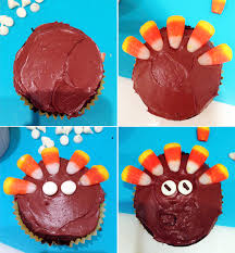thanksgiving turkey cupcakes by eunice katherine schwarzenegger