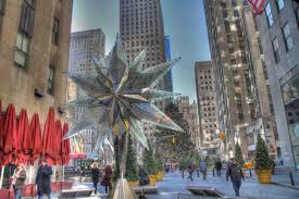 the rockefeller center christmas tree the swarovski star and ice