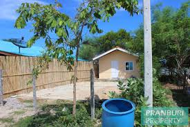 Cheap Beach Houses - cheap beach front bungalow with large land in kuiburipranburi
