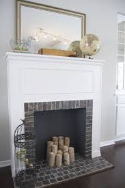 Build Faux Fireplace Fake Fireplace With Candles Howexgirlback Com