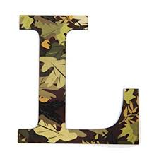 Letter L Home Decor by Amazon Com 11