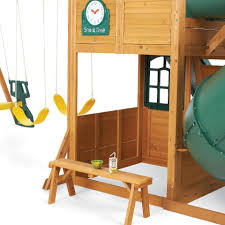big backyard montrose premium collection wood swing set ebay