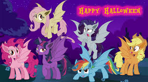 happy halloween cover photos image fanmade bat mane six happy halloween png my little
