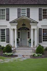 front doors front doors on white house black front door on white