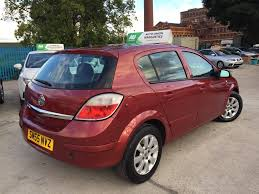 opel astra 2005 red 2005 vauxhall astra club 16v 1 789