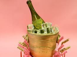 gold champagne bucket birthday cake youtube