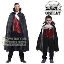 Battlestar Galactica Halloween Costume Gothic Halloween Vampire Costume Family Matching Daddy Kid Son