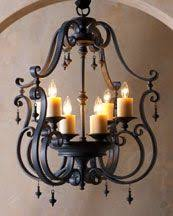 mexican wrought iron lighting spiral strap chandelier beautifully shaped with rustic details
