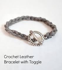 stacking bracelets easy diy stacking bracelets crocheted leather cord bracelet one
