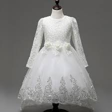 Wedding Dresses For Kids Aliexpress Com Buy Wedding Dresses For Children New Spring Lace