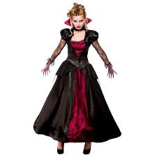 ladies wicked vampire queen costume halloween womens fancy dress