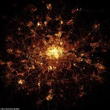 World Map At Night by Cities Around The World Created Entirely By An Algorithm Daily