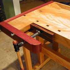 Wooden Bench Vise Plans by Tail Vise Leg Vise And Bench Build Plans Vices And Clamps