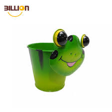 animal planter frog small animal planter plants indoor outdoor garden metal