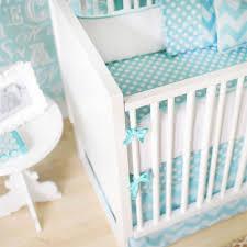 aqua spa chevron baby bedding and nursery necessities in interior