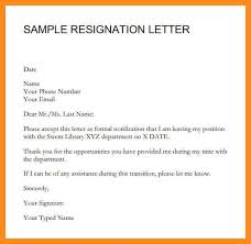 temporary resignation letter efficiencyexperts us
