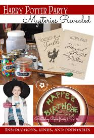 harry potter party games and printables onecreativemommy com