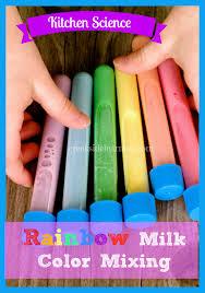 kitchen science the rainbow milk experiment rainbow milk
