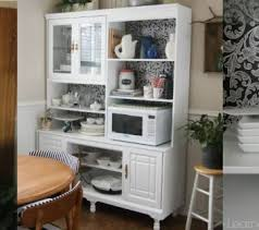 Kitchen Hutch With Desk Remodelaholic Buffets And Hutches