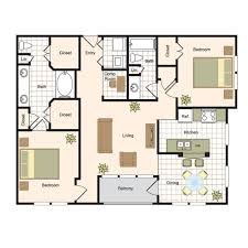 Luxury Kitchen Floor Plans by Floor Plans The Renaissance At Preston Hollow Luxury Apartments