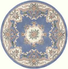 Round Rug 6 by N208 Rug From New Aubusson By Rugs America Plushrugs Com