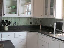 beadboard backsplash in kitchen salvaged beadboard kitchen backsplash to leave seal paint