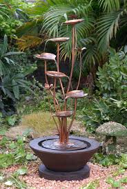 garden water fountain ideas home decoration