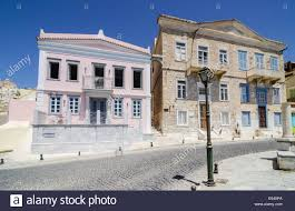 neoclassical style homes renovated neoclassical style houses in the vaporia area of ermoupoli