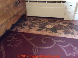 asphalt paper backed floor tiles asbestos content